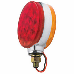 """4"""" Double Face LED Red/Amber Stop/Turn Light Assembly"""