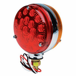 "4"" LED Red/Amber Double-Face Stop/Turn Light Assembly"