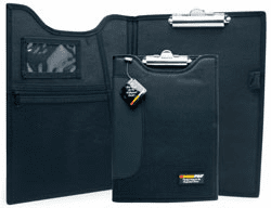 """9¼"""" x 12½"""" Padded Clipboard with Inside Pockets"""