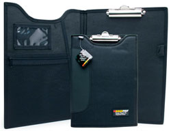 "Image of ""9"""" x 12"""" Padded Clipboard with Inside Pockets"""