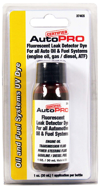 Image of A/C Pro Oil and Fuel Systems UV Dye (1 oz.)