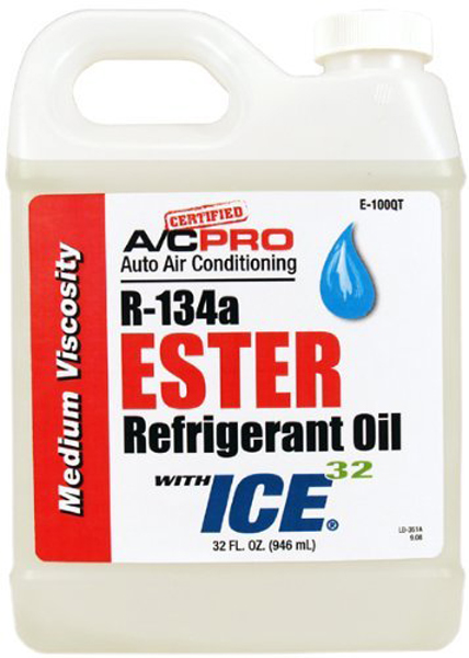 Image of A/C Pro R-134a Ester Refrigerant Oil w/ICE 32 (32 oz)