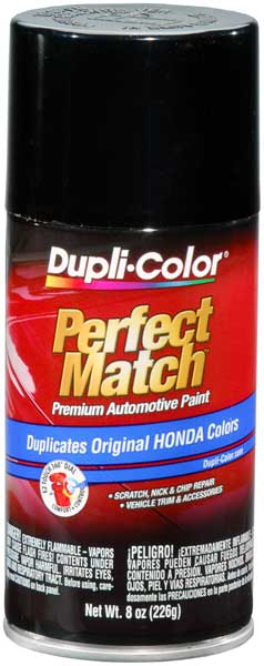 Image of Acura & Honda Vehicles Metallic Black Auto Spray Paint -NH503P/NH526M (1988-1996)