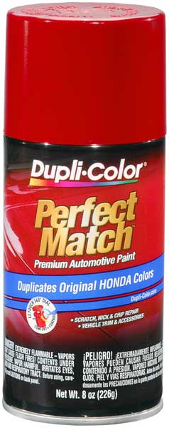 Image of Acura & Honda Vehicles Milano Red Auto Spray Paint - R81 (1992-2018)