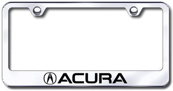 Acura Laser Etched Stainless Steel License Plate Frame