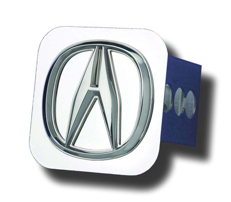 Chrome Acura Logo Stainless Steel Hitch Plug