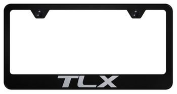 Acura TLX Laser Etched Stainless Steel License Plate Frame