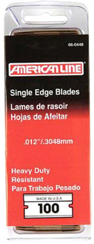 Image of American Safety Razor Heavy-Duty Razor Blades (100 Pack)