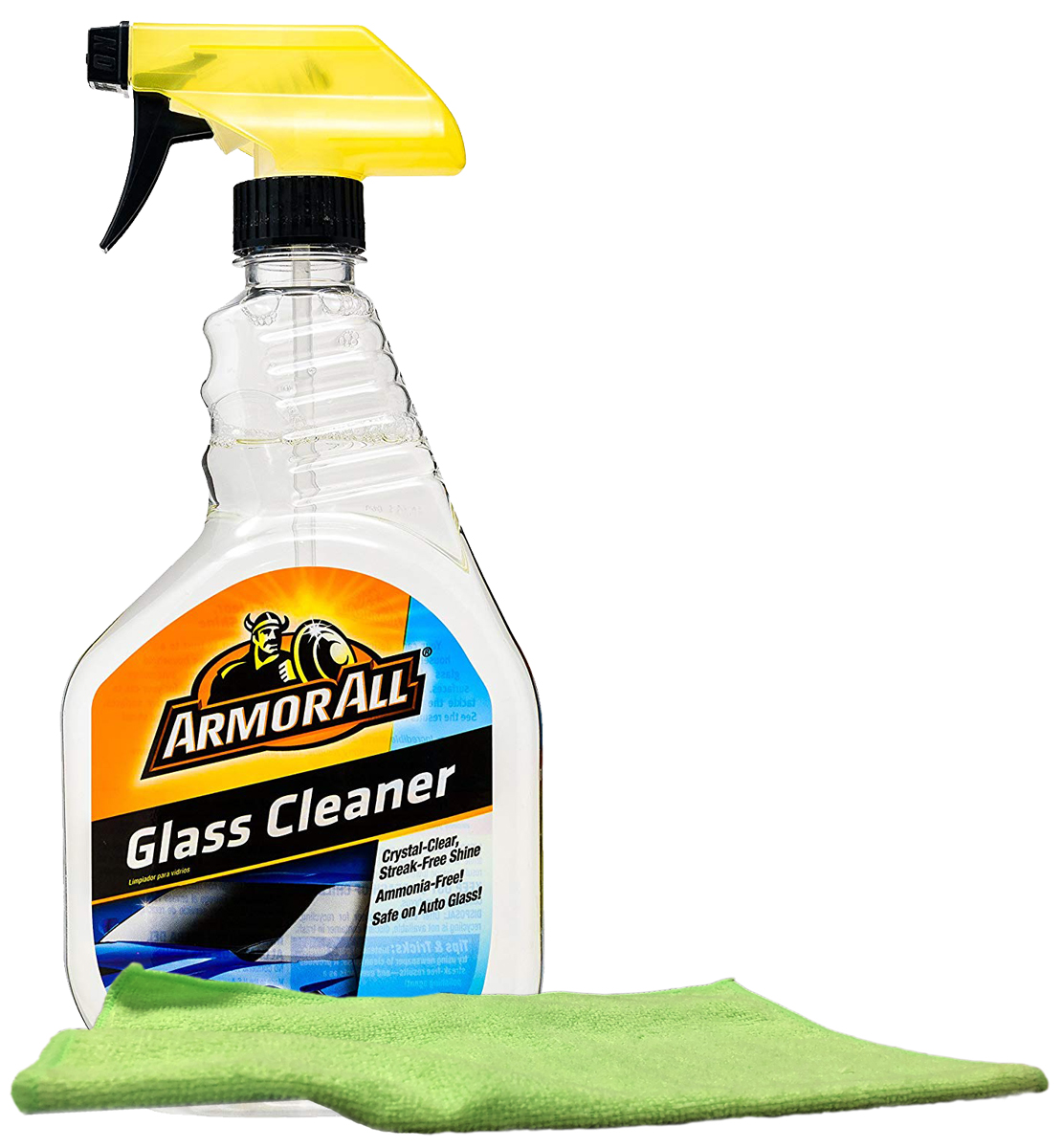 Image of Armor All Auto Glass Cleaner (22 oz.) & Microfiber Cloth Kit