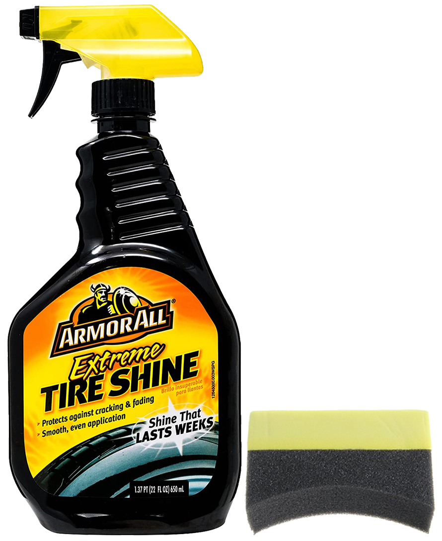 Image of Armor All Extreme Tire Shine (22 oz.) & Applicator Pad Kit