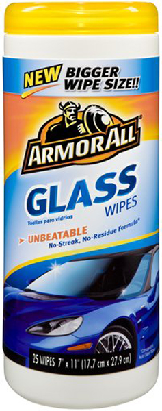 Image of Armor All Glass Wipes (25 ct.)