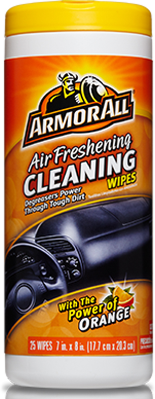 Image of Armor All Orange Scented Cleaning Wipes (25 count)