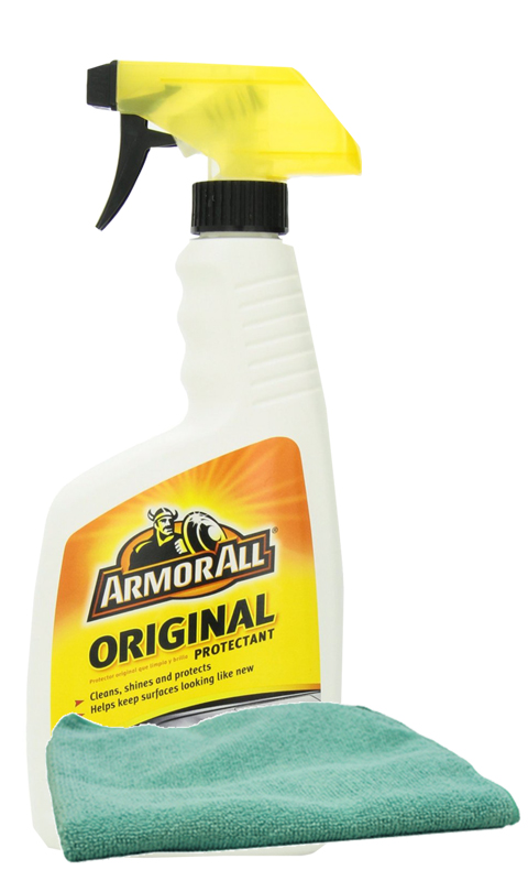 Image of Armor All Original Shine Protectant (16 oz.) & Microfiber Cloth Kit