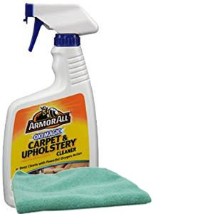 Armor All Oxi Magic Carpet and Upholstery Cleaner (22 oz.) & Microfiber Cloth Kit