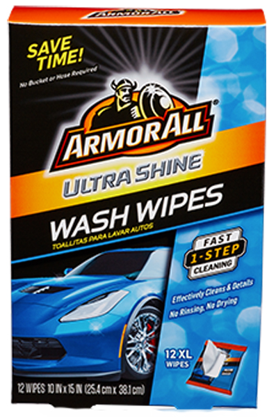 Image of Armor All Ultra Shine Wash Wipes (12 Count)
