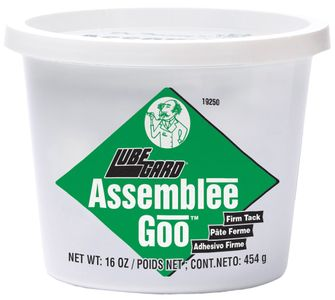 Lubegard Assemblee Goo Firm Tack Assembly Lubricant (16 oz.)