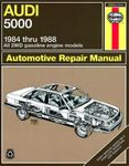 Audi 5000 (All 2WD gas engine models) Haynes Repair Manual (1984 - 1988)