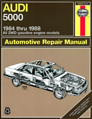 Complete coverage for your Audi 5000see years covered for All 2WD gas engine models excludes Quattro...