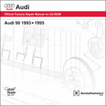 Audi 90 Repair Manual on CD-ROM (1993-1995)