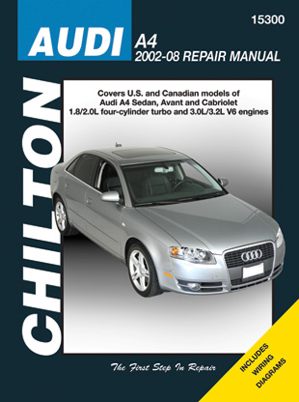 Audi A4 Chilton Repair Manual (2002-2008)
