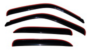 Image of Auto Ventshade 194304 Chevy Tahoe and GMC Yukon & Denali 4-Piece In-Channel VentVisor (2000-2006)