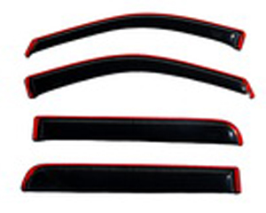 Auto Ventshade 194443 Lincoln Mark LT & Ford F-150 4-Piece In-Channel VentVisor (2004-2008)