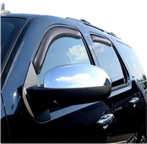 Auto Ventshade 194514 Chevy Tahoe & GMC Yukon 4-Piece In-Channel VentVisor (2007-2014)