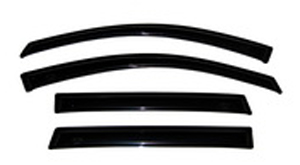 Auto Ventshade 94550 Lincoln MKZ & Zephyr Ford Fusion and Mercury Milan 4-Piece VentVisor (2006-2012)