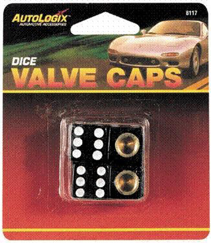 Image of Autologix Dice Tire Valve Caps (4 Pack)