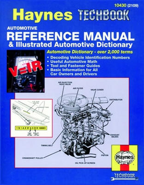 Image of Automotive Reference Manual & Illustrated Automotive Dictionary