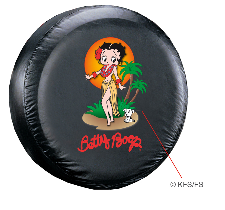 Image of Betty Boop Aloha Spare Tire Cover