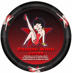 Betty Boop Star Steering Wheel Cover