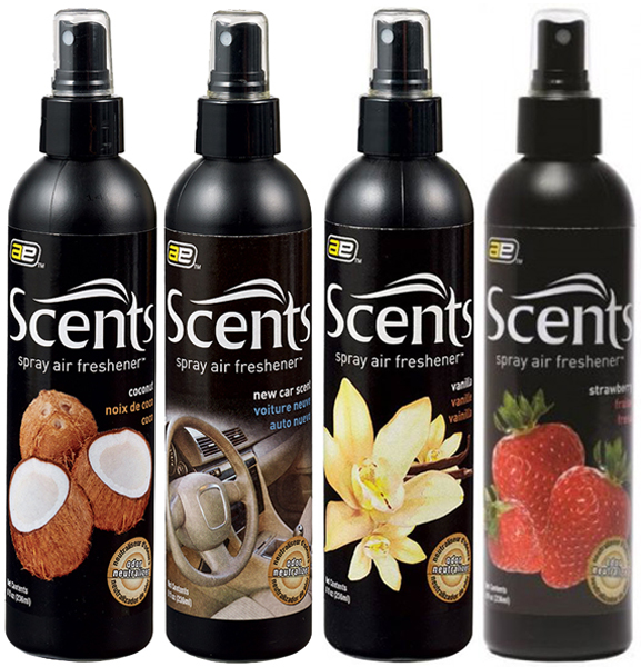 Image of Auto Expressions Scents Air Freshener Sprays (8 oz.) - Coconut