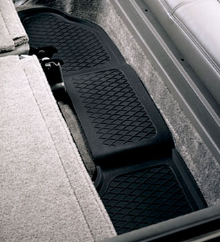 Image of Black Armor Custom Molded Floor Guards For Third Seat