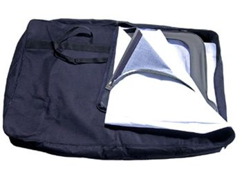Black Jeep Window Storage Bag