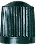 Black Plastic Valve Cap  (Box of 100)