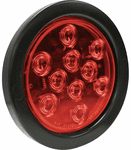 "Blazer 4"" Round LED Park, Stop, Tail & Turn Light Kit"