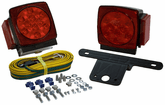 Blazer Square Submersible LED Trailer Light Kit (Pair)