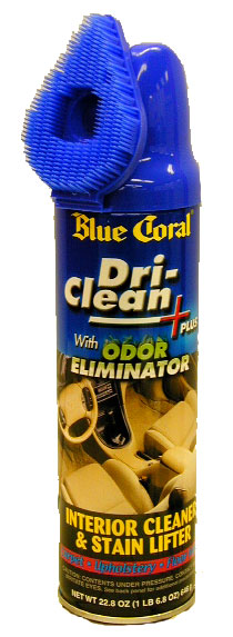 Image of Blue Coral Dri-Clean Carpet & Upholstery Cleaner Aerosol