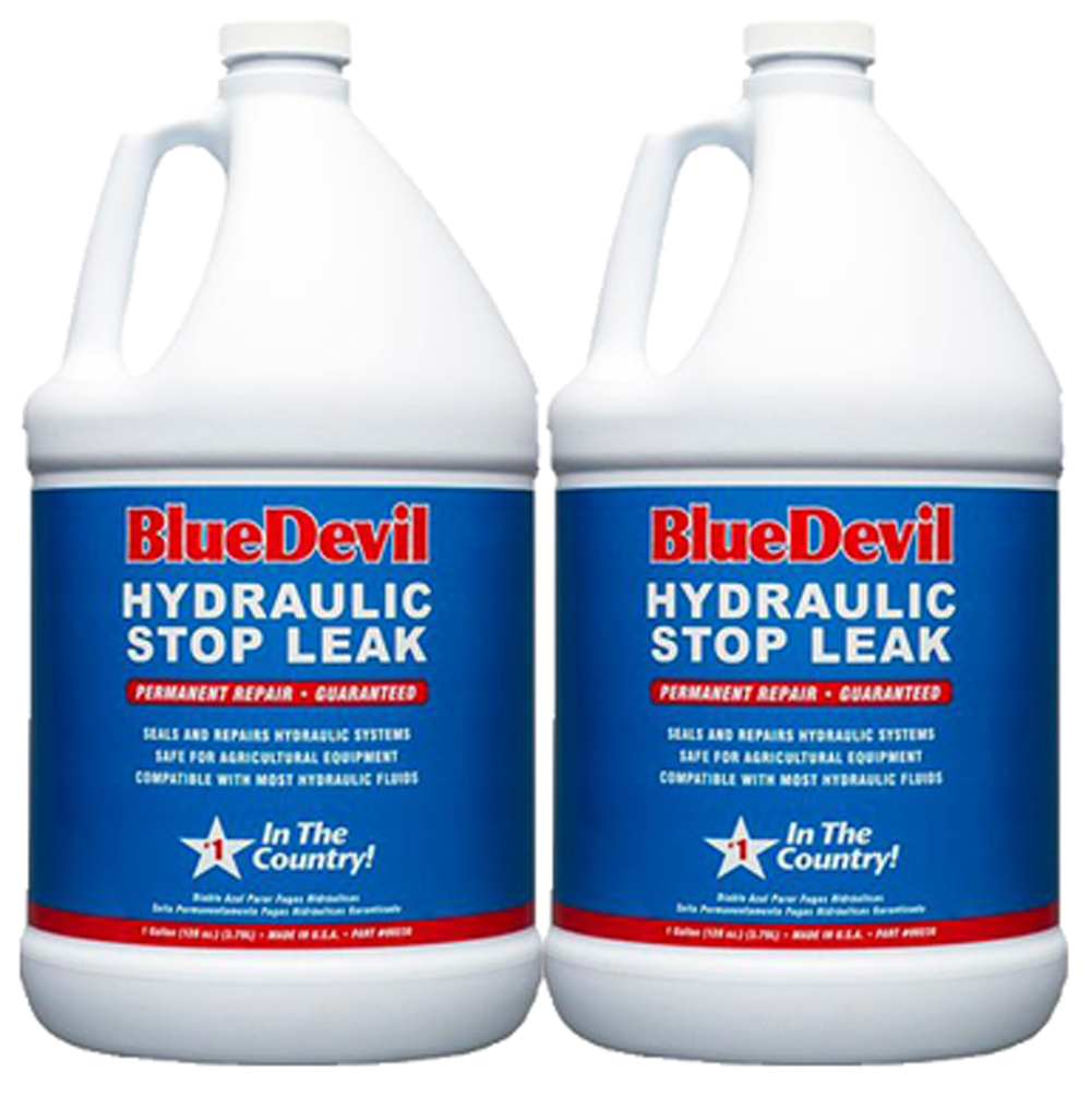 Image of Blue Devil Hydraulic Stop Leak (1 Gallon) - 2 Pack
