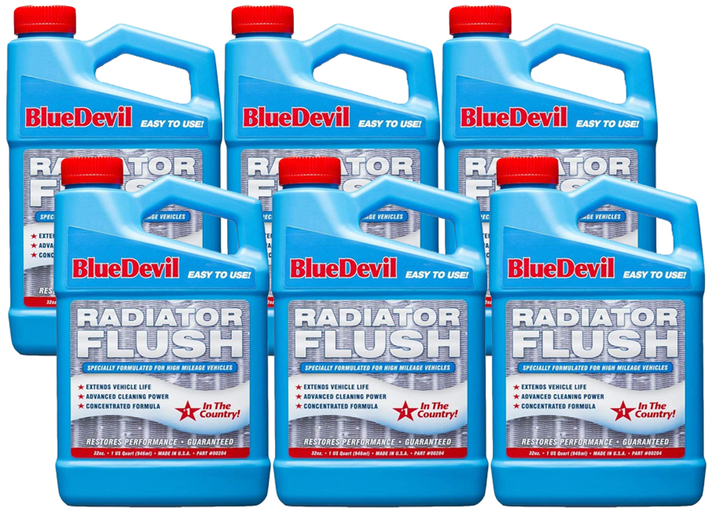 Image of Blue Devil Radiator Flush - (32oz.) - 6 Pack
