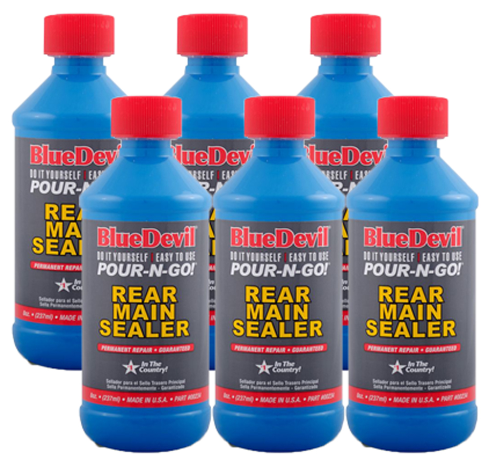 Image of Blue Devil Rear Main Sealer (8 oz.) - 6 Pack