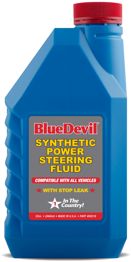 Image of Blue Devil Synthetic Power Steering Fluid (32 oz)
