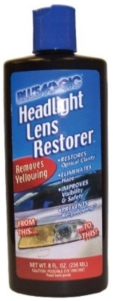Image of Blue Magic Headlamp Lens Restorer (8 oz.)