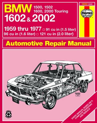 BMW 1500 1502 1600 1602 Haynes Repair Manual (1959-1977)