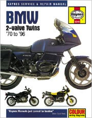BMW 2-Valve Twins Haynes Repair Manual (1970 - 1996)