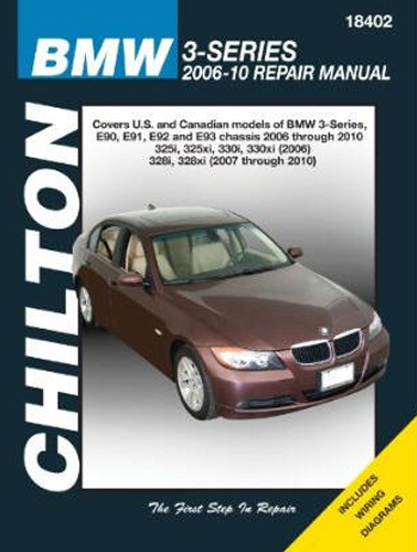 Image of BMW 3-Series Chilton Repair Manual (2006-2010)
