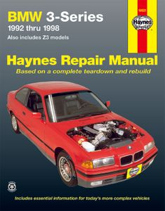 BMW 3 Series & Z3 Haynes Repair Manual (1992-1998)