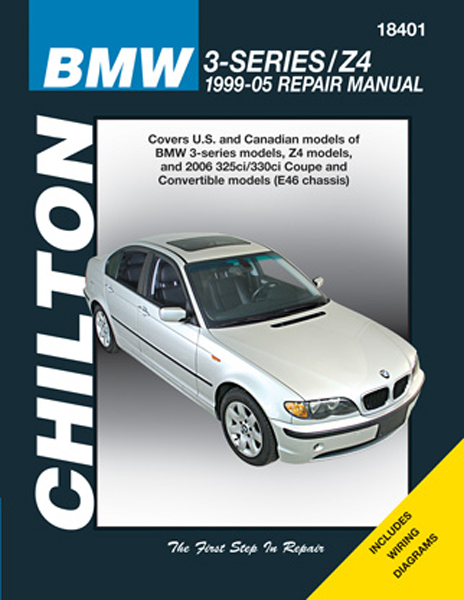 Image of BMW 3-Series & Z4 Chilton Repair Manual (1999-2005)
