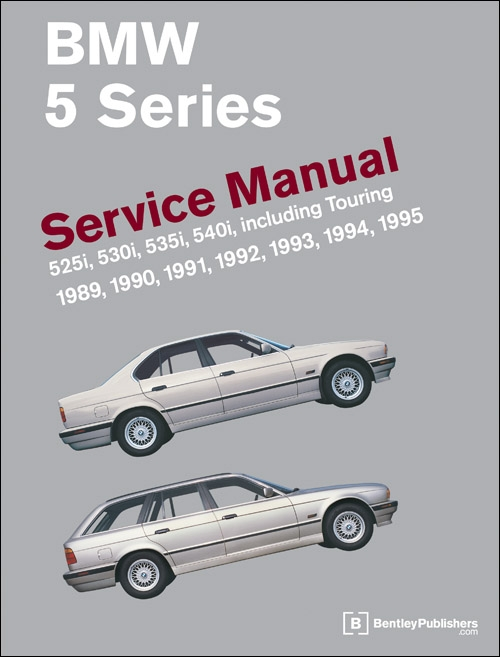 BMW 5 Series (E34) Service Manual (19891995)